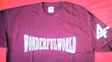 4 Skins- T-Shirt- Wonderfulworld- bordo