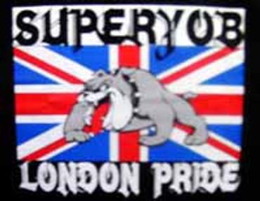 T-Shirt - Superyob - Great Britain - schwarz
