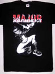 T-Shirt - Major Accident - Geigenspieler - schwarz
