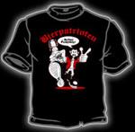 T-Shirt - Bierpatrioten - schwarz
