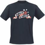 T-Shirt - Argy Bargy - Sternle - schwarz
