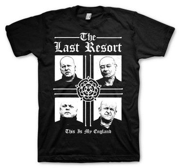 T-Shirt - The Last Resort - Skinheads - schwarz