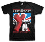 T-Shirt - The Last Resort - This is my England - black