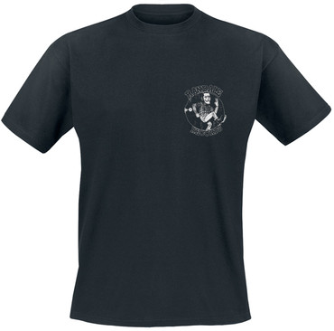 T-Shirt - Randale Records - Brustlogo - schwarz