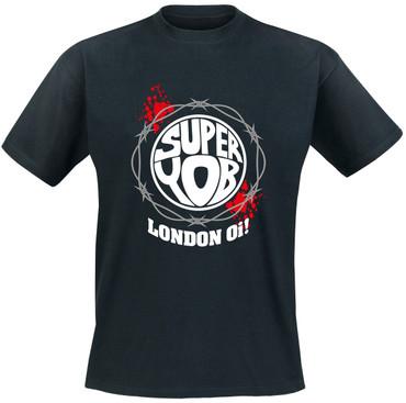 T-Shirt - Superyob - Stacheldraht - schwarz