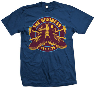 T-Shirt - The Business - Westham - dark blue