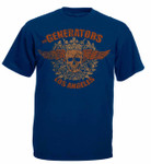 T-Shirt - The Generators - Skull - blau