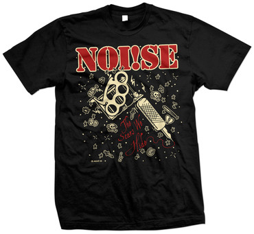 T-Shirt - Noise/ Noi!se - the scars we hide - schwarz