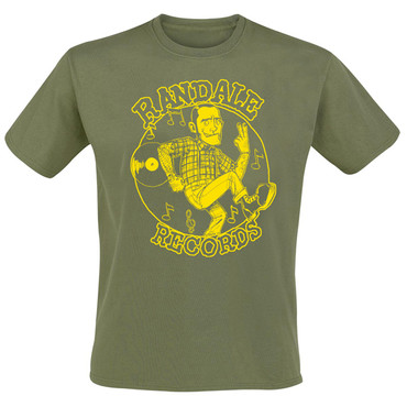 T-Shirt - Randale Records - olive/ yellow