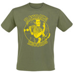 T-Shirt - Randale Records - olive/ gelb