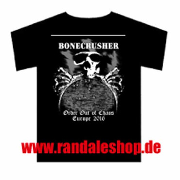 Band T-Shirt- Bonecrusher- Tour 2016
