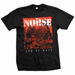 T-Shirt - Noise/ Noi!se - End of the Day - schwarz