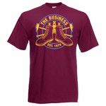 T-Shirt - The Business - Westham - oxblood