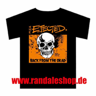 Band T- Shirt- The Ejected- Skull orange