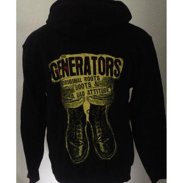 Kapuzenjacke - The Generators - Chaos, Boots, Bad Attitudes - schwarz/ gelb – Bild 1