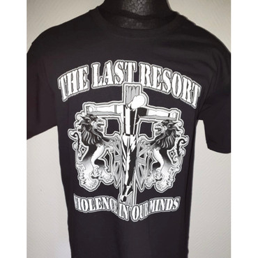 T-Shirt - The Last Resort - Violence in our minds - schwarz