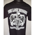 T-Shirt - The Last Resort - Violence in our minds - black
