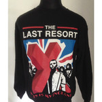 Pullover - The Last Resort - This is my England - schwarz