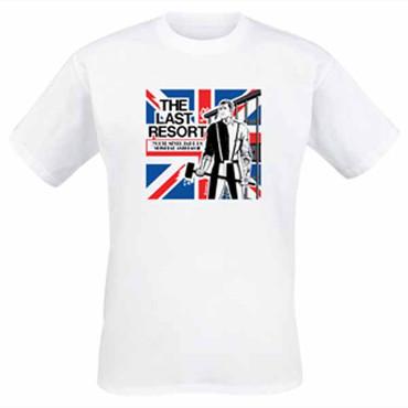 T-Shirt - The Last Resort - Skinhead Anthems - weiß
