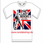 T-Shirt - The Last Resort - Skinhead Anthems - A way - weiß