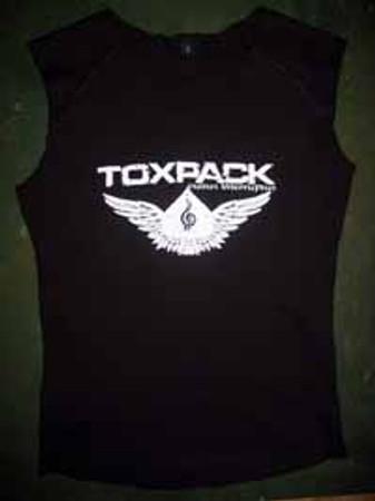 Toxpack- Raw Edged- ärmelloses Girlieshirt