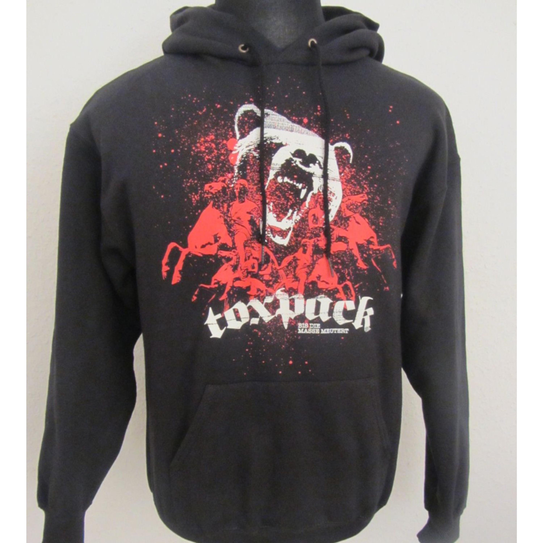 Super süße online Shop Entdecken Sie die neuesten Trends Kapuzenpullover - Toxpack - Bis die Masse meutert - schwarz/ rot