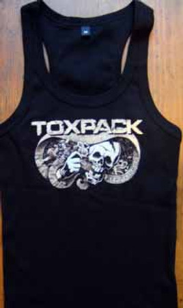 TOXPACK- Farbfieber- Girlie- Muskelshirt