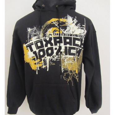 Hoodie - Toxpack - 100% Ich - black/ yelow