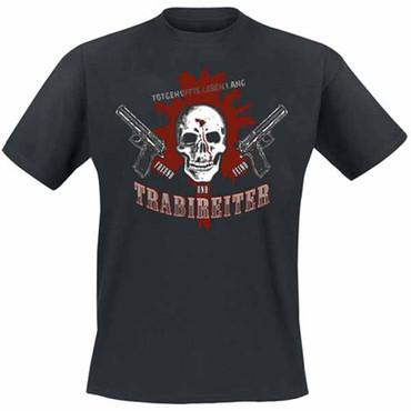 T-Shirt - Trabireiter - Freund und Feind - black