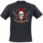 T-Shirt - Trabireiter - Freund und Feind - schwarz
