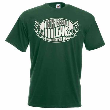 T-Shirt - Trabireiter - Tischfussball Hooligans - dark green