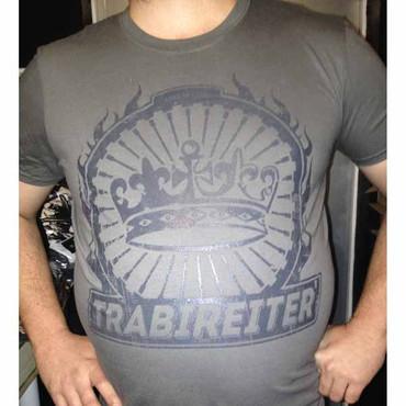 T-Shirt - Trabireiter - Assis sind nie allein - grey