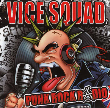 Vice Squad- Punk Rock Radio- LP- black
