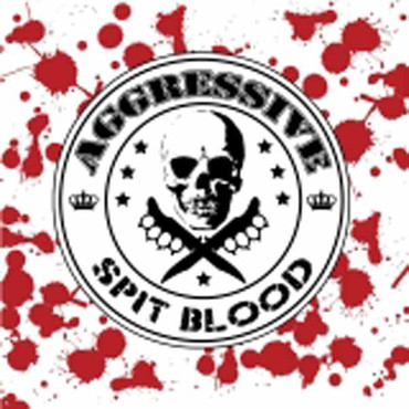 Aggressive - Spit Blood- vinyl LP- black