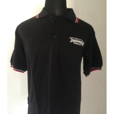 Poloshirt - Troublemaker - schwarz