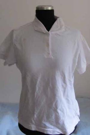 2. Hand Girlie- Polo- weiß