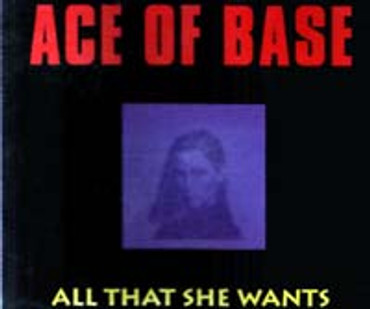 Ace of Base- All that she wants- (Maxi CD)