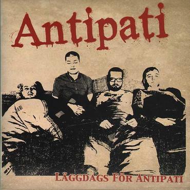 """Antipati """"Läggdags För Antipati"""" EP 7"""" + CD (lim. 500, splatter)"""