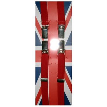 Hosenträger - 1,5cm breit - rot