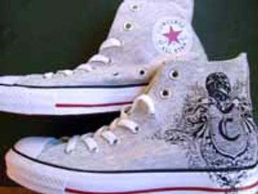 Converse Chucks High 70's Court Clash Print grey black 102933