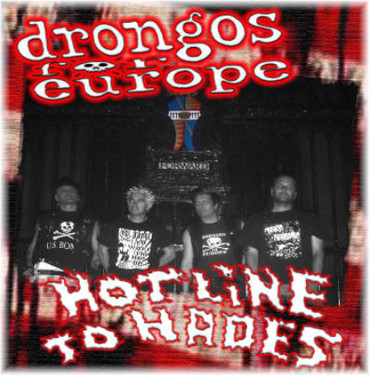 Drongos For Europe- CD