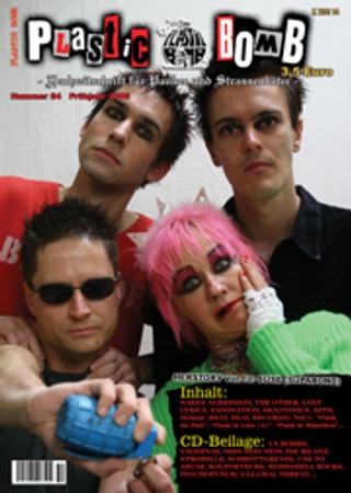Fanzine- Plastic Bomb #54 + CD
