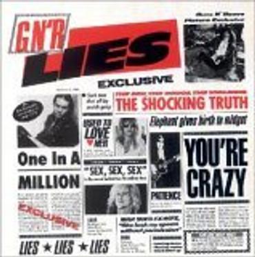 Guns N' Roses Lies- CD