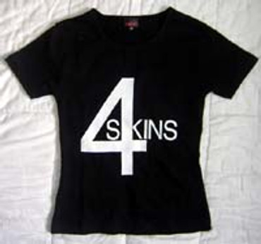 4 Skins Girlie-Shirt
