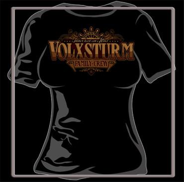 Volxsturm T-Shirt- Family Crew- Girlie