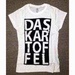"Band GIRLIE- T- Shirt- ""Das Kartoffel"" 001"