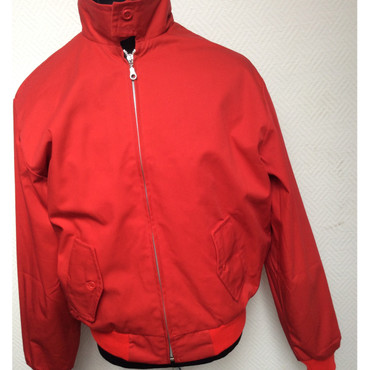 Harrington Jacke - rot