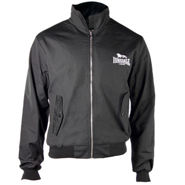 Harrington Jacket - Lonsdale - black