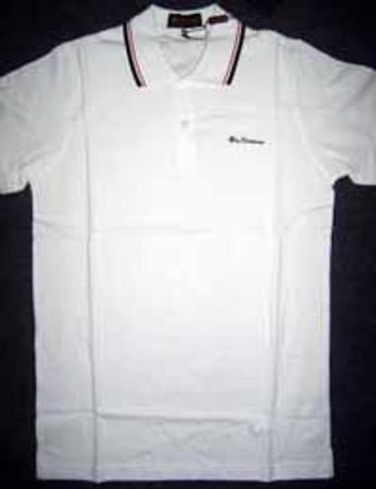 Poloshirt - Ben Sherman - white
