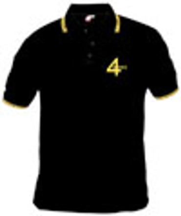 4 Skins - Polohemd- schwarz